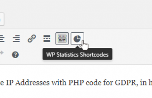 wp statistics plugin shortcodes